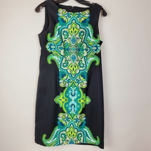 KIM ROGERS Tropical Turquoise & Black Stretch 8